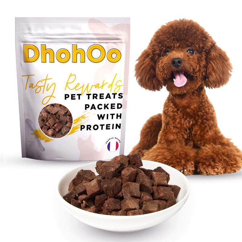 DHOHOO® High Protein Treats -Dog Tasty Rewards with Tuna