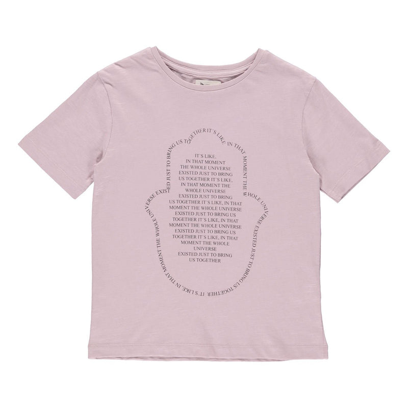 "Jake statement T-Shirt burnished lilac ""Universe"""