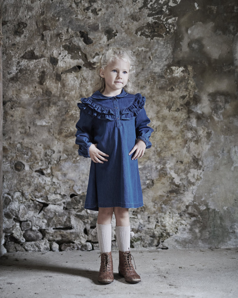 Thelma dress denim