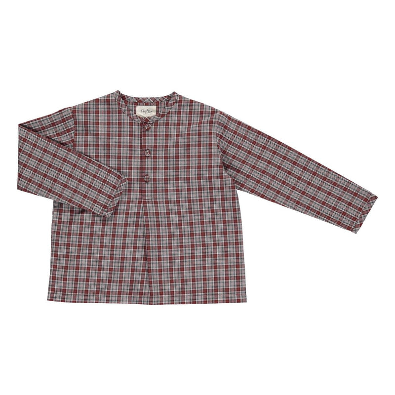Joachim shirt brown check