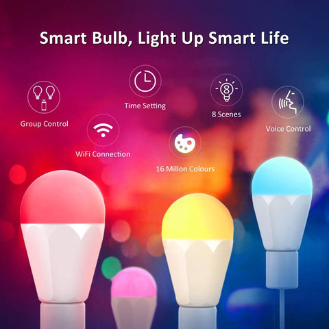 1 Pack 13W WiFi RGBCW Brightest Smart Light Bulb