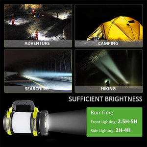 Novostella Rechargeable 1000LM CREE LED Spotlight, Multi Function Waterproof Outdoor Camping Lantern