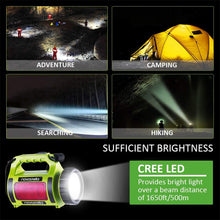Load image into Gallery viewer, Novostella 2000mAh Rechargeable CREE LED Spotlight, Multi-Functional Waterproof LED Searchlight