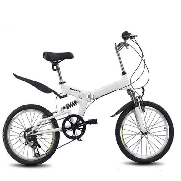 20inch folding bike speed bicycle road bike Children's mountain bike Portable lightweight folding bicycle