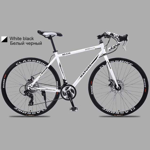 21 27and 30 speed road bike 700c aluminum road bike double disc sand road bike ultra light bike adult bicycle