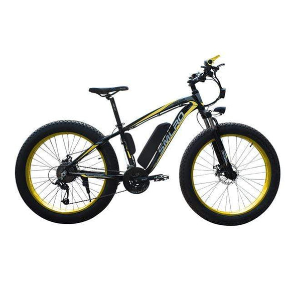 26inch Electric bike 1000W 17.5Ah Electric Beach Bike 4.0 Fat Tire Electric Bicycle 48V Mens Mountain Bike Snow ebike e bike