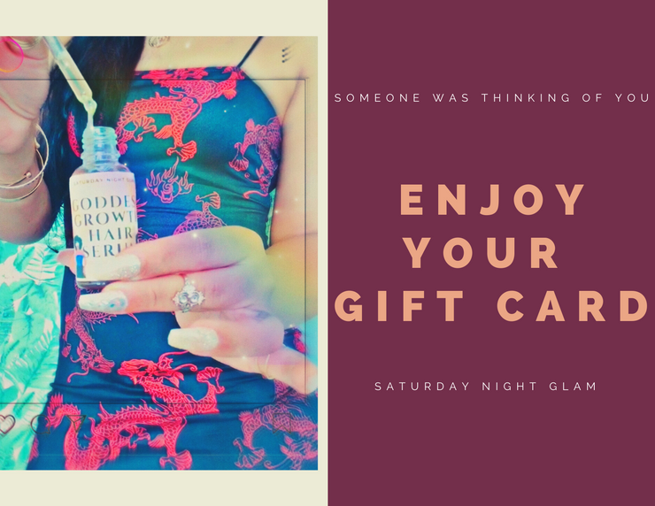 Saturday Night Glam Gift Card - Saturday Night Glam