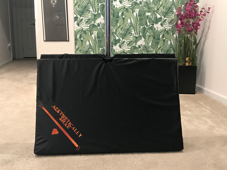 Customized Pole Crash Mat - Saturday Night Glam