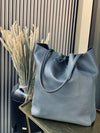Tasche Big Leather Antracite