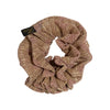 Metallic Scrunchie Powder Gold