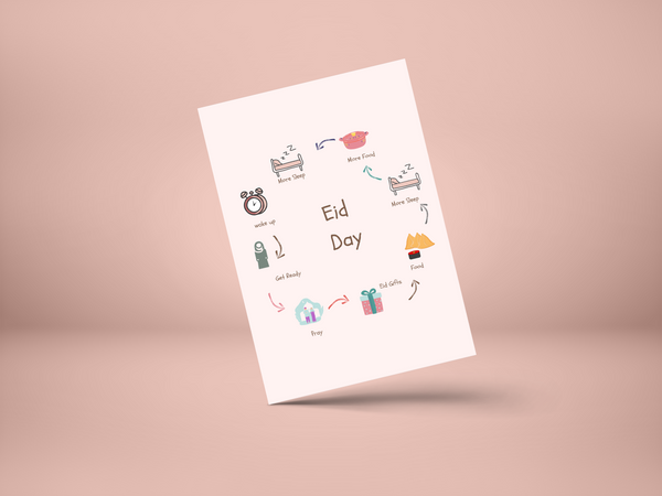 Eid Day Greeting Card
