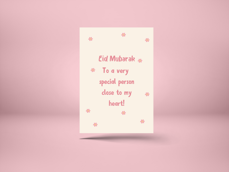 Eid to a Special Person