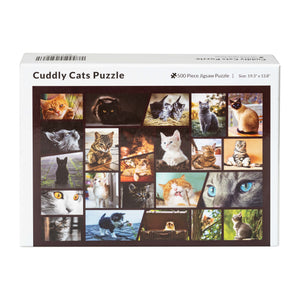 Cuddly Cats Jigsaw Puzzle - Great Cat Gifts for Cat Lovers, Family Puzzle - 500 Piece Puzzle