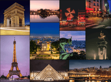 Load image into Gallery viewer, Paris at Night Jigsaw Puzzle - Paris City of Light Gift - 500 Piece Puzzle