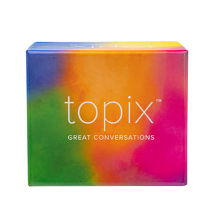 TOPIX Conversation Cards - 424 Thought-Provoking Conversation Starters