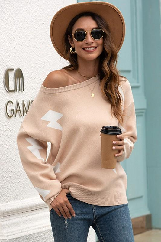 Giana Cozy Oversized Sweater - Lylah's