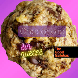Chocoholic 1 unidad 100 Gramos Sin Nueces The Good Galletas