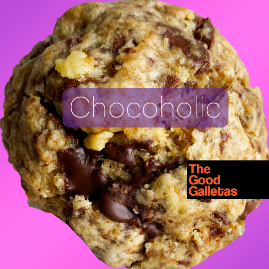Chocoholic 1 unidad 100 Gramos Con Nueces tostadas The Good Galletas