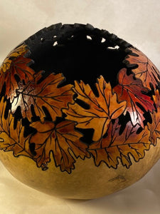 Two Tier Leaf Bowl