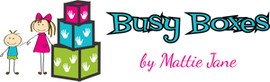 Busy Boxes by Mattie Jane