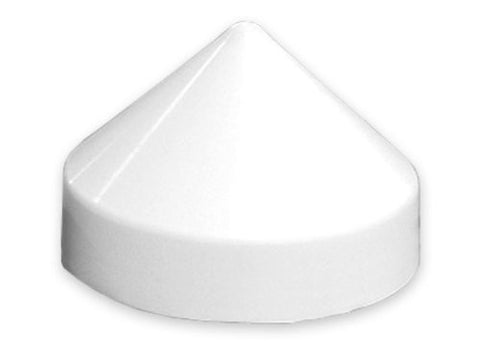 "Taylor Made Products - 8"" Diameter White Dock Piling Cap - Marine Fiberglass Direct"