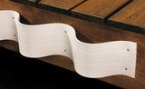 "Taylor Made Products -""The Wave"" Dock Extrusion White 25' Coil - Marine Fiberglass Direct"