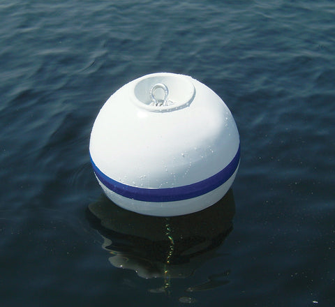 "Taylor Made Products Sur-Moor T3C Buoy with Shackle Nest - 18"" - Marine Fiberglass Direct"