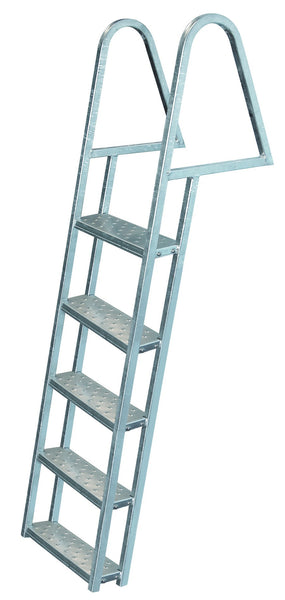 Jif Marine 5 Step Tie Down Dock Ladder Galvanized