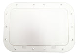 "7"" x 11"" Deck Access Hatch Plate - Pry Out - Marine Fiberglass Direct"