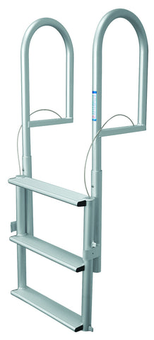 Jif Marine 3 Step Dock Lift Ladder Anodized Aluminum