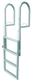 JIF Marine - 4 Step Dock Lift Ladder - Anodized Aluminum - DJX4