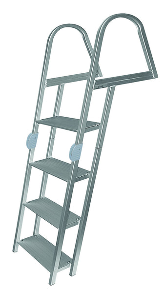 Jif Marine 4 Step Folding Dock Ladder W Mounting