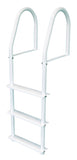 JIF Marine - 3 Step Stationary Ladder - White - FBMS3