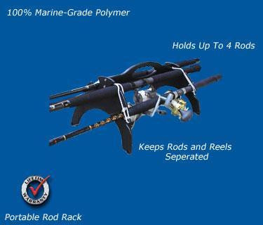 FISHING ROD AND REEL HOLDER- EASY CARRIER - Marine Fiberglass Direct