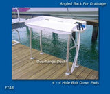 Dock Side Fish Fillet Table FT48 Cleaning Station - Marine Fiberglass Direct
