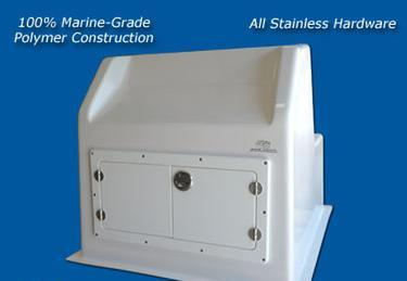 "Console Door / Hatch / Tackle / Boat Storage / CDF-2412 (24"" x 12"" ) - Marine Fiberglass Direct"