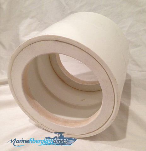 Tower Speaker Cans for Wakeboard Boats or T-tops - No Hardware - Marine Fiberglass Direct