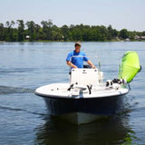 Manta Racks - L2K - Fits 1 Kayak/Paddleboard - Satin Black w/ Snow Camo Pad w/ 30° Rod Holder inserts - Marine Fiberglass Direct