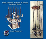 FISHING ROD AND REEL HOLDER- EASY VERTICAL CARRIER - Marine Fiberglass Direct