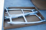 ADDA-Top Universal T-Top - Frame - Hard Top in a Box - BASIC KIT - SKY WHITE - Marine Fiberglass Direct