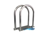 "Two (2) Marine Dock & Boat - 30"" H x 16.5"" W - Handrail - Grab Bar - Flat Base"