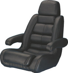 Todd 5 Star Seat Only Black-U9705BK - Marine Fiberglass Direct