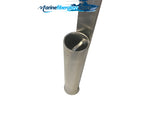 Aluminum Sand Spike Stake Rod Holder - TWO - Marine Fiberglass Direct
