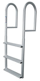 JIF Marine - 3 Wide Step Stationary Dock Ladder - DJV3-W