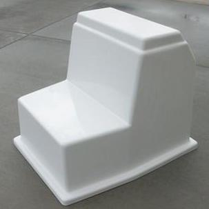 "CENTER CONSOLE - 25""H x 26""W x 31""D - CMCC05 - Marine Fiberglass Direct"