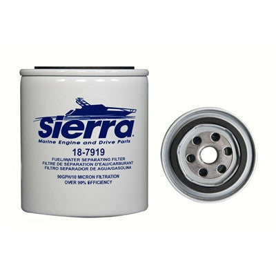 "Sierra Fuel/Water Separator Kit 1/4"" Replacement Filter - 187919 - Marine Fiberglass Direct"
