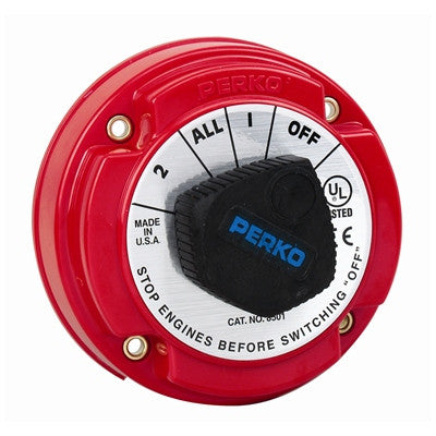 Marpac Battery Selector Disconnect Switch Marine - 70378 - Marine Fiberglass Direct