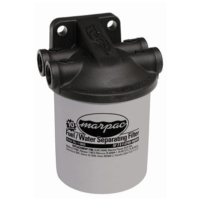 Marpac Racor Fuel/Water Separator Kit w/ Two Filters & Composite Head - 033322MPK - Marine Fiberglass Direct