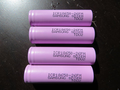 Brand new Samsung 2600mah battery-top quality! - Marine Fiberglass Direct