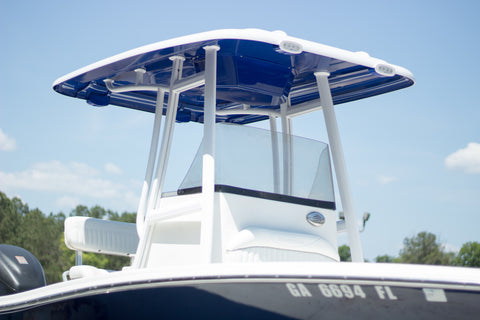 ADDA-Top Universal T-Top - Frame - Hard Top in a Box - BASIC KIT - CARBON GREY - Marine Fiberglass Direct